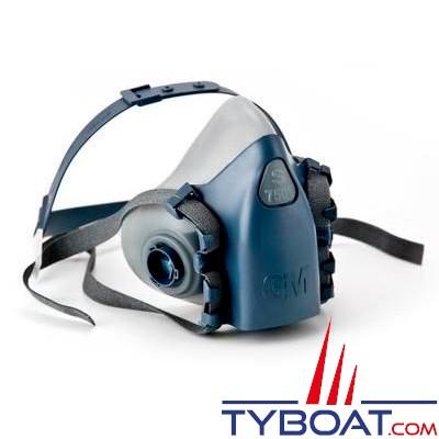 3M - Demi masque silicone 7500 sans filtre