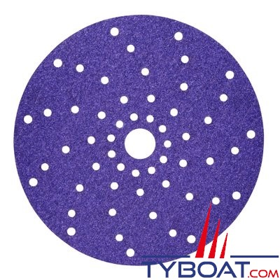 3M - Disque abrasif Cubitron II multi-trous - Ø 150 mm - grain P150 (à l'unité)