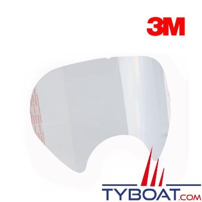 3M -  Film transparent protection visière masque 6800 (pochette de 25)