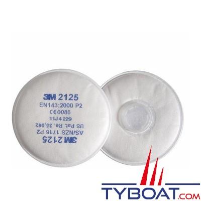 3M - Filtre poussière P2 direct pour masques 6000 et 7000 (boîte de 20)