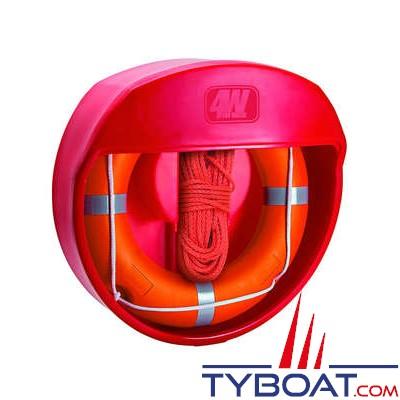 4W For Water - Coffre sans couvercle pour bouée courronne - Ø de 70 à 75 cm