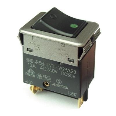 Disjoncteurs ETA type 3130-F12B bipolaires