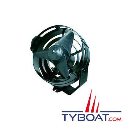 HELLA MARINE - Ventilateur TURBO - 12 Volts - Sur socle - Noir