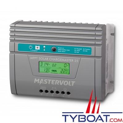 Mastervolt - Régulateur de charge pour panneaux solaires - SCM25 MPPT-MB- 12/24 Volts - 25 Ampères