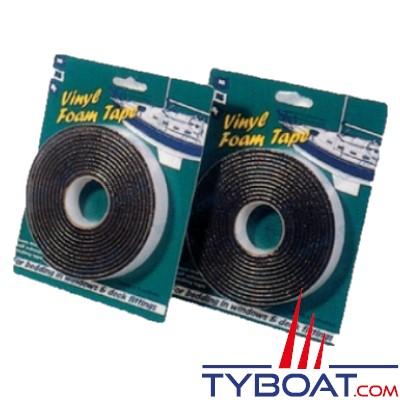PSP Marine Tapes - Mousse adhésif pour joints étanches - anti-vibration des hublots - panneaux et coffres moteurs.