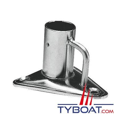 Plastimo -  Embase Inox à pontet pour tube Ø 25 mm
