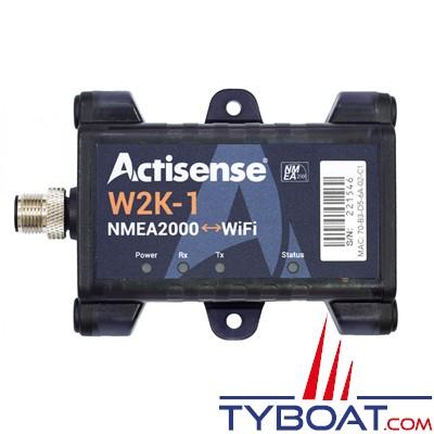 Actisense - Interface W2K-1 Passerelle NMEA2000/WiFi, enregistreur de données intégré, IP67, 9-36VDC