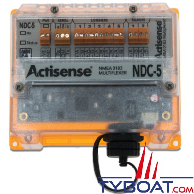 Actisense - Multiplexeur NMEA 0183 - Filtrage configurable et contrôle par Ethernet