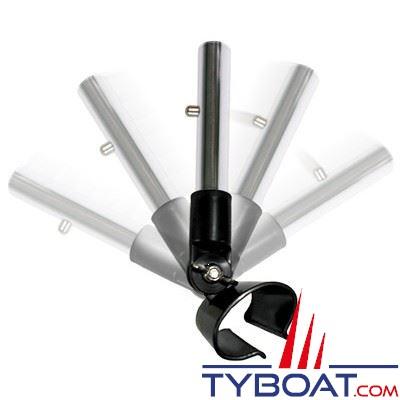 Adaptateur pour raclette silicone Swobbit Quick Dry - tête pivotante 180° sur manches Perfect Pole