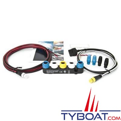 Adaptateur Raymarine SeaTalk NG vers SeaTalk livré complet avec câbles et terminaisons