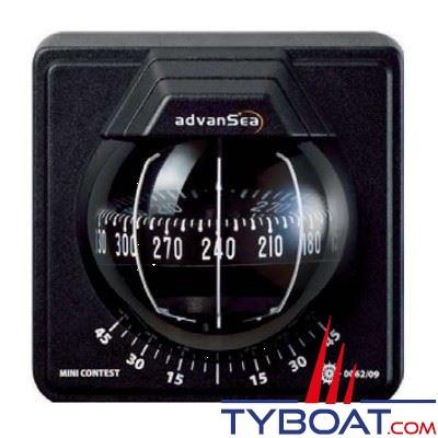 Advansea - Compas Mini-Contest cloison verticale - noir / rose noire
