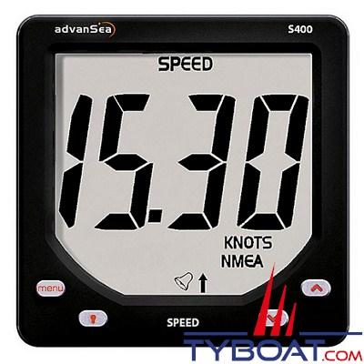 ADVENSEA - Afficheur Loch Speed S400 complet avec capteur