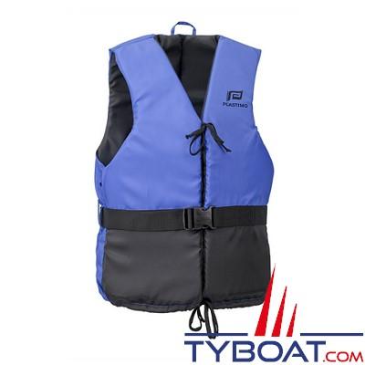 Aide à la flottabilité Plastimo Olympia bleu/noir - dériveur et multi-sports - 50 Newtons - taille L - 70-90 Kg