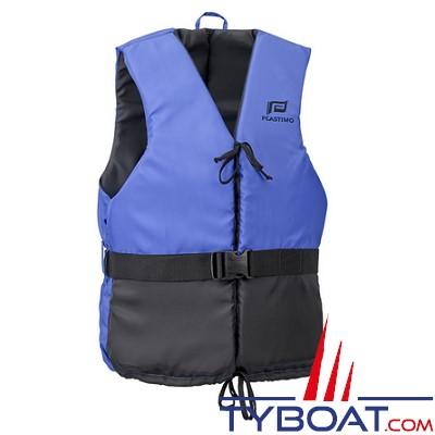 Aide à la flottabilité Plastimo Olympia bleu/noir - dériveur et multi-sports - 50 Newtons - taille  M - 60-70 Kg