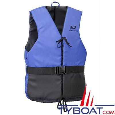 Aide à la flottabilité Plastimo Olympia orange/bleu marine dériveur et multi-sports 50 Newtons taille   S 30-50 Kg
