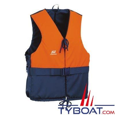 Aide à la flottabilité Plastimo Olympia orange/bleu marine dériveur et multi-sports 50 Newtons taille XL + 90 Kg