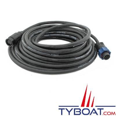Airmar - Câble adaptateur Lowrance / Simrad / B&G pour sonde générique AIRMAR 1kw - 8 mètres
