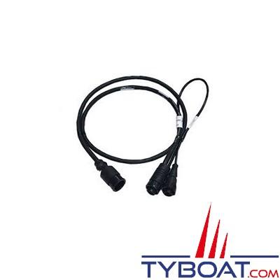 Airmar - Câble adaptateur  Mix & Match vers double connecteur X-Sonic Dual Band
