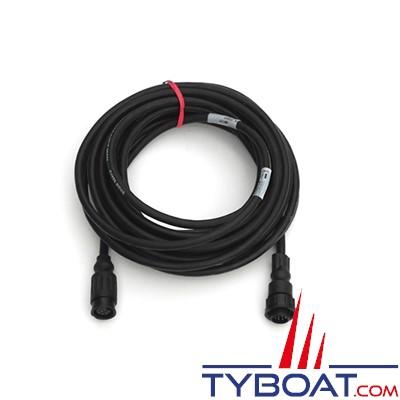 Airmar - Câble adaptateur simple Mix & Match 9 pin femelle vers connecteur XSonic - 9 mètres