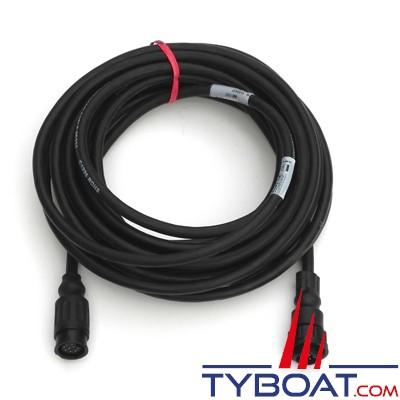 Airmar - Câble d'extension pour sonde 1 Kw avec connecteur générique 9 Pin - 6 mètres