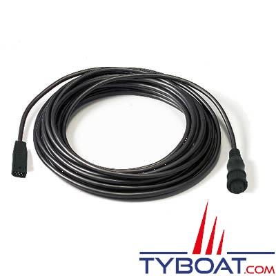Airmar - Câble d'interface 1kW pour sonde avec connecteur générique vers Humminbird série 800/900/1100/HELIX GEN1 et 2