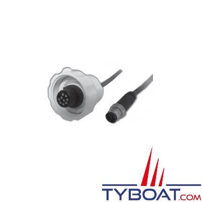 Airmar - Câble NMEA2000 pour antenne GPS G2183 / GH2183 / PB200 avec terminaison NMEA2000 - 30 mètres