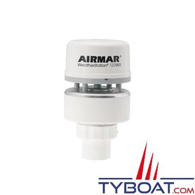 Airmar - Girouette-Anémomètre à ultrasons / GPS / Baromètre 120WX NMEA0183 / NMEA2000 sans capteur d'humidité - livré sans câble