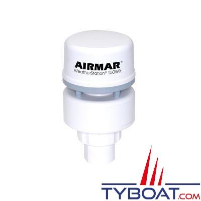 Airmar - Girouette-Anémomètre à ultrasons / GPS / Baromètre  150WX NMEA0183 / NMEA2000 avec capteur d'humidité - livré sans câble