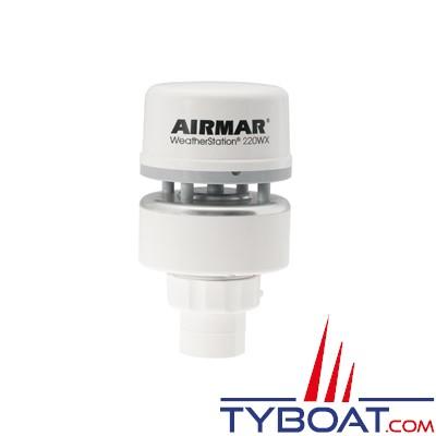 Airmar - Girouette-Anémomètre à ultrasons / GPS / Baromètre 220WX RS422 NMEA0183 / NMEA2000 sans capteur d'humidité - livré sans câble
