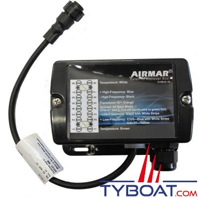 Airmar - Multiplexeur externe pour sonde CHIRP
