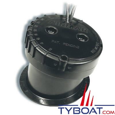 Airmar - Sonde à coller (montage intérieur) P79 D - 600W - 50/200 KHz - Profondeur  - Avec connecteur Lowrance / Simrad / B&G