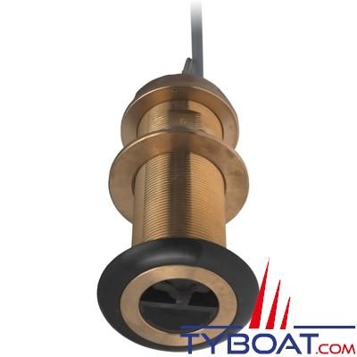 Airmar - Sonde  traversante bronze DST800L - 235Khz - Profondeur/vitesse/température - NMEA2000