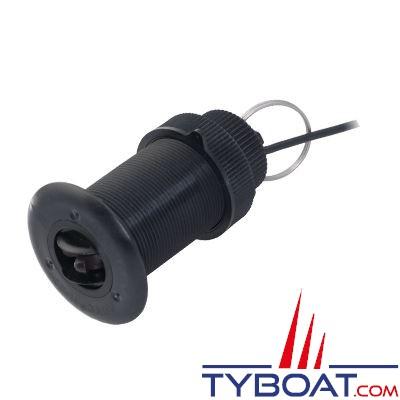 Airmar - Sonde traversante plastique ST850 - Vitesse et température - Avec passe-coque P17 - Sans connecteur