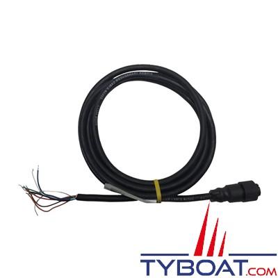 Câble d'Adaptation de Furuno 10 pins vers câble nu -2 mètres