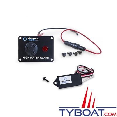 Albin Pump Marine - Alarme de cale détecteur et tableau de commande 12 Volts - 01-39-043