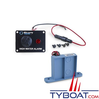 Albin Pump Marine - Alarme voie d'eau avec tableau - 24 Volts - 01-69-042