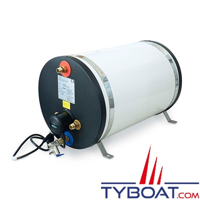 Albin Pump Marine - Chauffe-eau marin Inox 45 Litres - 850 Watts - 08-02-008