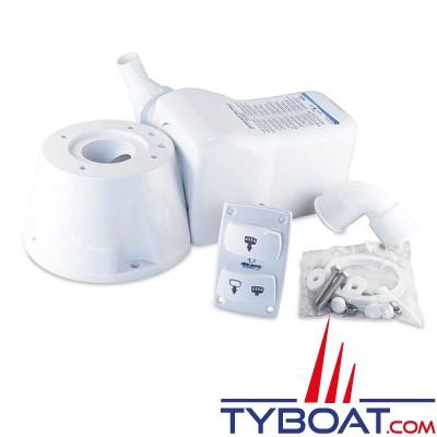Albin Pump Marine - kit de conversion pour toilette electrique silencieux - 12 Volts - 07-66-021