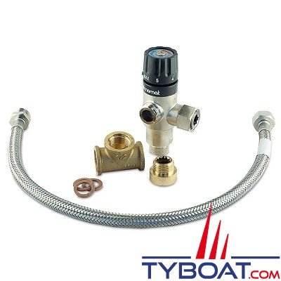 Albin Pump Marine - kit mitigeur pour chauffe eau premium - 08-66-011
