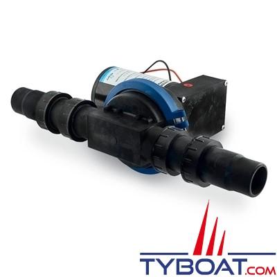 Albin Pump Marine - Pompe à membrane eaux noires 32 litres - 24 Volts - 03-01-004
