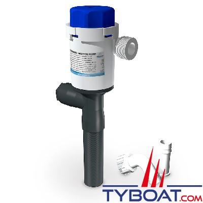Albin Pump Marine - Pompe aérateur Twinport - 500 GPH 32L/min - 12v - sortie droite - 01-05-077
