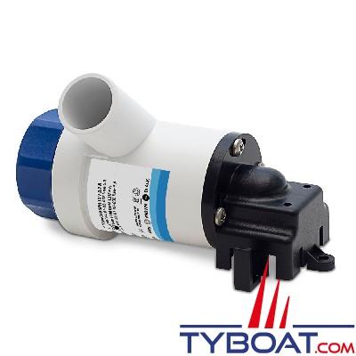 Albin Pump Marine - Pompe de cale  1100 GPH - 75 Litres/minute - 12 Volts - Montage horizontal - 01-02-008
