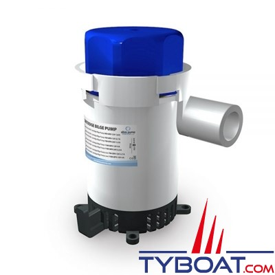 Albin Pump Marine - Pompe de cale 1100 GPH - 75 Litres/minute - 24 Volts - 01-02-006