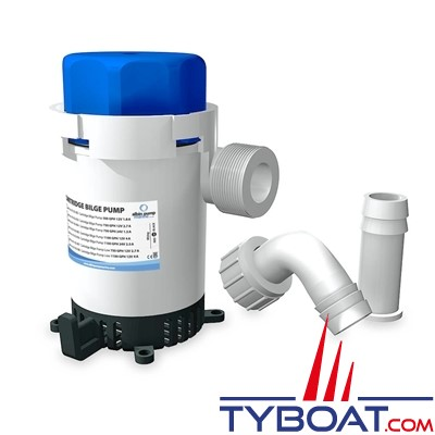 Albin Pump Marine - Pompe de cale  500 GPH - 32 Litres/minute - 12 Volts - 01-02-002