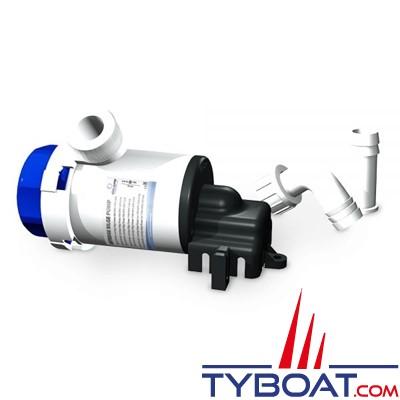 Albin Pump Marine - Pompe de cale  750 GPH - 50 Litres/minute - 12 Volts - Montage horizontal - 01-02-007