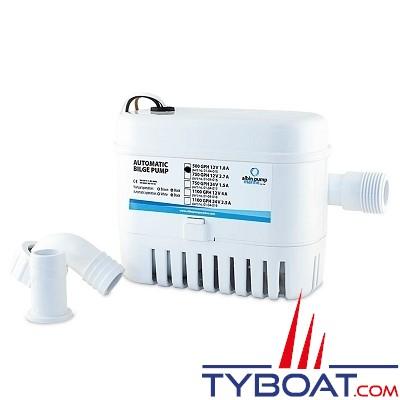Albin Pump Marine - Pompe de cale automatique  500 GPH - 32 Litres/minute - 12 Volts - 01-04-015