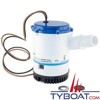 Albin Pump Marine - Pompe de cale Heavy Duty 1750 GPH - 110 Litres/mm - 24 Volts - 01-03-012