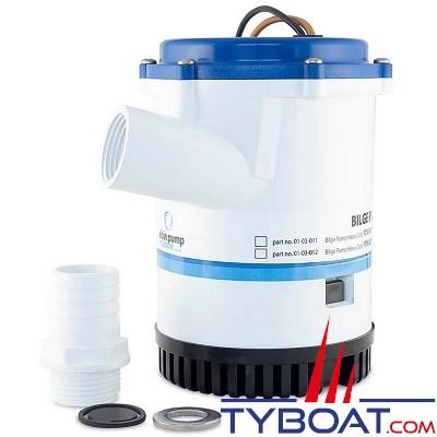 Albin Pump Marine - Pompe de cale Heavy Duty 2250 GPH - 140 Litres/mm - 24 Volts - 01-03-014