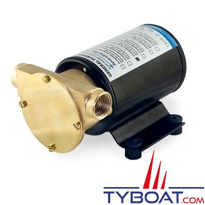 Albin Pump Marine - Pompe de transfert FIP F4 Renforcée - 45 Litres/minute - 12 Volts