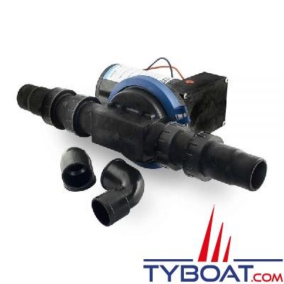Albin Pump Marine - Pompe eaux usées à diaphragme - 32 litres/mn- 24 Volts